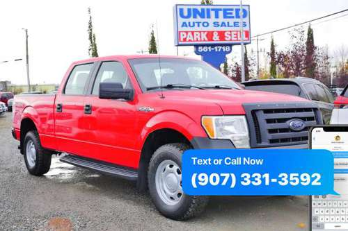 2011 Ford F-150 F150 F 150 XL 4x4 4dr SuperCrew Styleside 6.5 ft. SB... for sale in Anchorage, AK