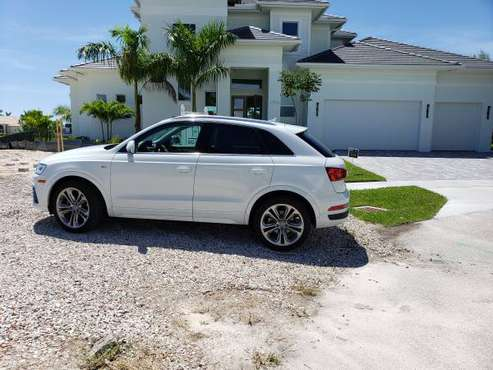 2016 AUDI Q3 S LINE for sale in Marco Island, FL