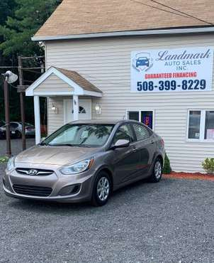 2012 Hyundai Accent 4 Cylinder Automatic Guaranteed Financing for sale in Attleboro, RI