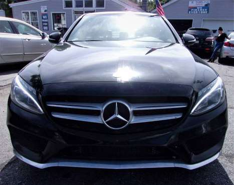 2015 Mercedes C300 4-matic/Nav/All Credit is APPROVED@Topline Import.. for sale in Haverhill, MA