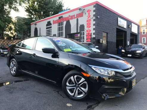 Look What Just Came In! A 2016 Honda Civic Sedan with only 34,530 Mile for sale in Chelsea, MA