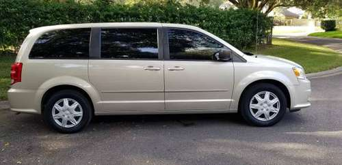 15 Grand Caravan 7 passenger minivan low for sale in Seffner, FL