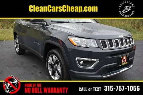 2018 Jeep Compass black for sale in binghamton, NY