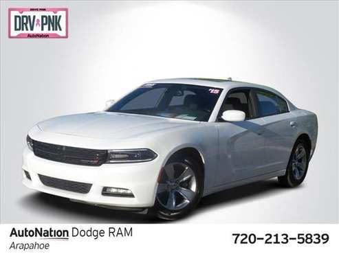 2015 Dodge Charger SXT SKU:FH789518 Sedan for sale in Centennial, CO