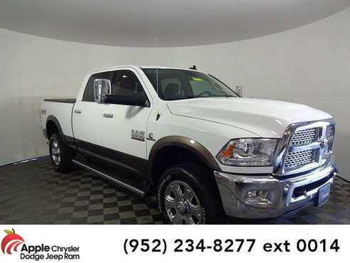 2018 Ram 2500 truck Laramie (Bright White Clearcoat) for sale in Shakopee, MN