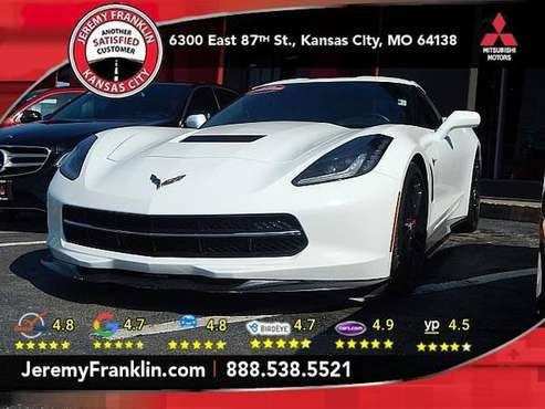 2014 Chevy Corvette Z51 LT3 Bad Credit $0dn $215wkl Deon for sale in Kansas City, MO