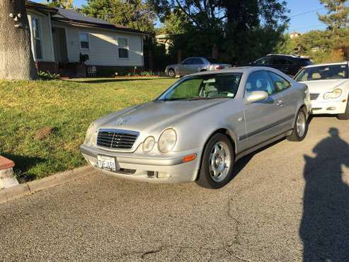 1999 Mercedes Benz CLK320 runs perfectly for sale in Glendale, CA