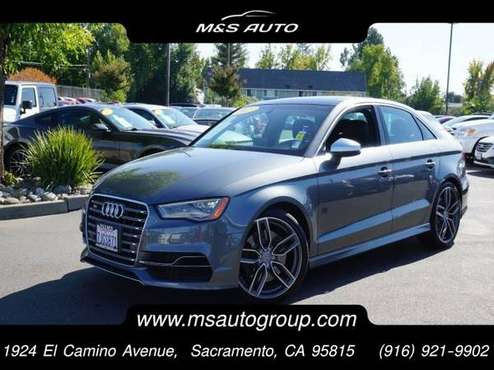 2015 Audi S3 AWD All Wheel Drive 2.0T Prestige Sedan for sale in Sacramento , CA
