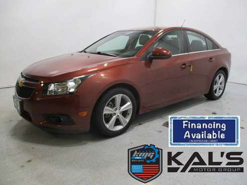 2013 Chevrolet Cruze LT front wheel drive sedan for sale in Wadena, MN