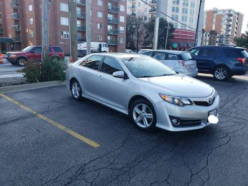 2014 TOYOTA CAMRY SE for sale in Prospect Heights, IL