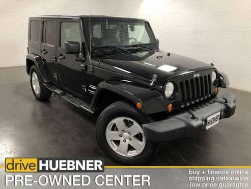 2007 Jeep Wrangler Black Good deal! for sale in Carrollton, OH
