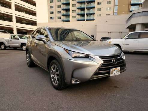 2016 Lexus NX 200t Sport Utility A CLEAN AWD SUV WITH VERY LOW MILES! for sale in Honolulu, HI