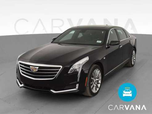 2017 Caddy Cadillac CT6 3.6 Luxury Sedan 4D sedan Black - FINANCE -... for sale in Tucson, AZ