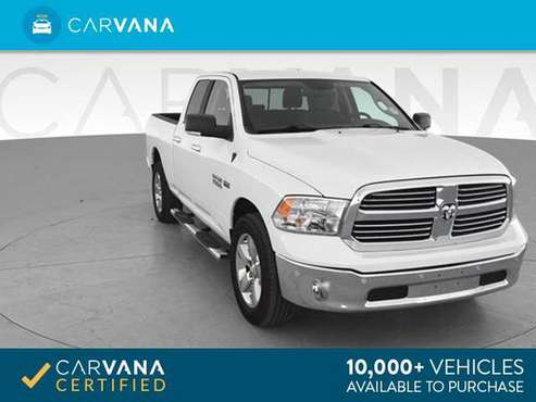 2017 Ram 1500 Quad Cab Big Horn Pickup 4D 6 1/3 ft pickup WHITE - for sale in Albuquerque, NM