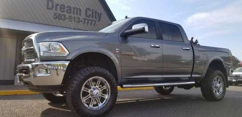 2013 Ram 2500 Crew Cab Manual 6-Spd Diesel 4x4 Dodge Laramie Loaded Wi for sale in Portland, OR