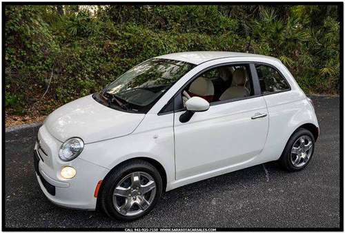 2012 FIAT 500 Pop 2dr Hatchback - CALL or TEXT TODAY!!! for sale in Sarasota, FL