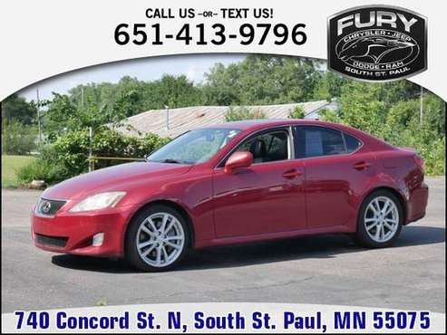*2006* *Lexus* *IS 350* *4dr Sport Sdn Auto* for sale in South St. Paul, MN