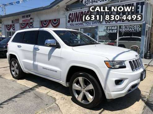 2016 JEEP Grand Cherokee 4WD 4dr Overland Crossover SUV for sale in Amityville, NY
