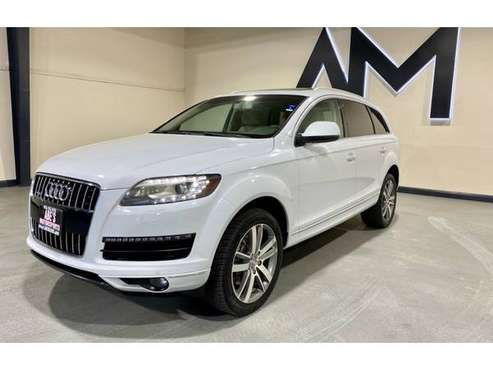 2012 AUDI Q7 QUATTRO 3.0T PREMIUM PLUS - cars & trucks - by dealer -... for sale in Sacramento , CA