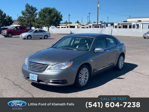 2013 Chrysler 200 4dr Sdn Limited for sale in Klamath Falls, OR