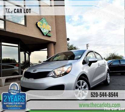 2015 Kia Rio LX 6-spd Manual............Brand New Tires / COLD AC / A for sale in Tucson, AZ