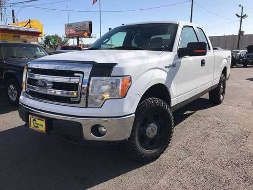 2013 Ford F-150 F150 F 150 XLT 4x4 4dr SuperCab Styleside 6.5 ft. SB... for sale in Denver , CO