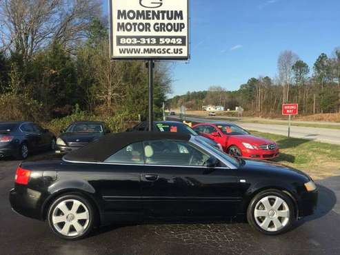 2005 Audi A4 2005 2dr Cabriolet 3.0L CVT for sale in Lancaster , SC