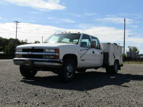 CHEVROLET CHEYENNE C3500 WITH A 1997 KOENIG TOOLBOX* ONLY $2995 👍 for sale in Springfield, OR