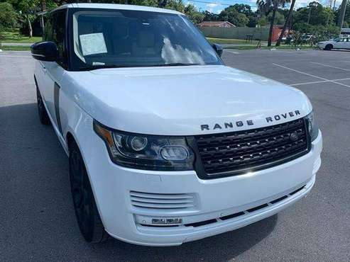 2013 Land Rover Range Rover HSE 4x4 4dr SUV for sale in TAMPA, FL