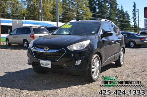 2012 HYUNDAI TUCSON LIMITED 4CL I4 ECONOMICAL - cars & trucks - by... for sale in Bothell, WA