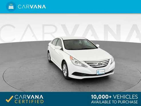 2014 Hyundai Sonata GLS Sedan 4D sedan White - FINANCE ONLINE for sale in Cary, NC