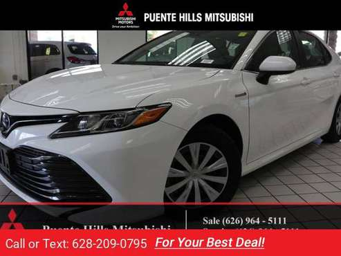 2018 Toyota Camry Hybrid Hybrid LE for sale in City of Industry, CA