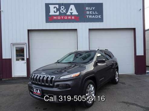 2017 Jeep Cherokee Limited 4x4 - cars & trucks - by dealer - vehicle... for sale in Waterloo, MN