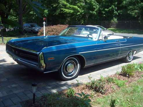 1970 Chrysler300 convertible sale/trade BO for sale in Westbury , NY