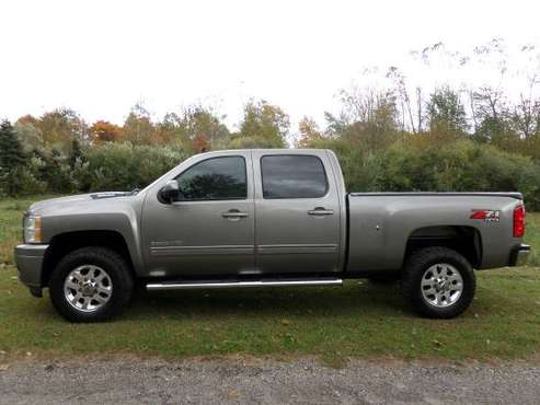 1 OWNER CLEAN CAR FAX 2014 CHEVY DURAMAX 2500 LT CREW CAB 4X4 SOUTHERN for sale in PETERSBURG MI, OH