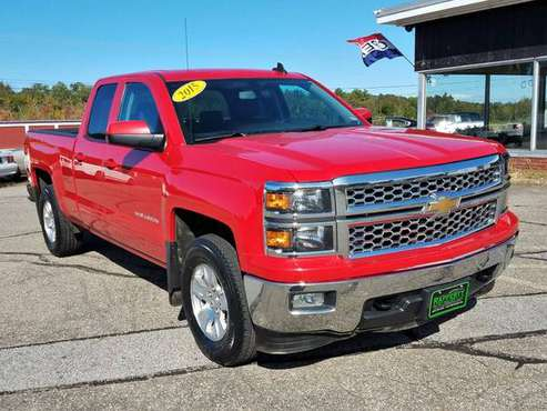 2015 Chevy Silverado LT Ext Cab 4WD, 106K, AC, CD, SAT, Cam, Bluetooth for sale in Belmont, MA
