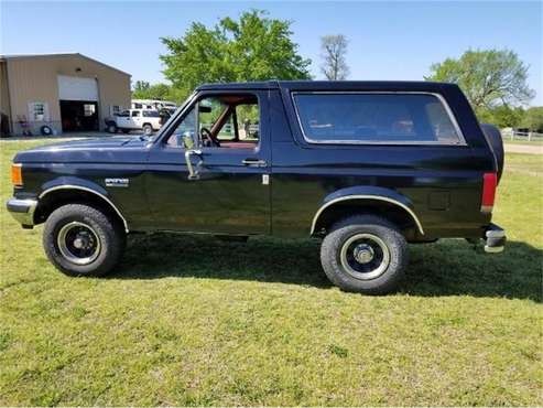 1988 Ford Bronco for sale in Cadillac, MI