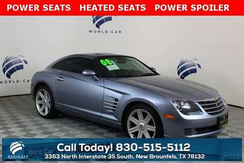2008 Chrysler Crossfire Limited for sale in New Braunfels, TX