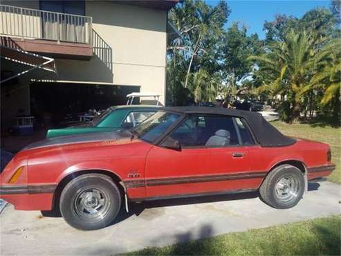 1984 Ford Mustang for sale in Cadillac, MI