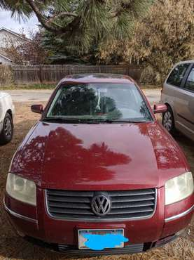 04 Volkswagen Passat for sale in victor, MT