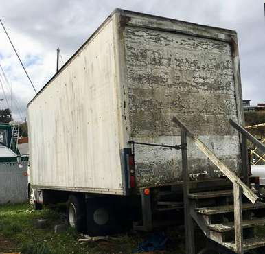 1989 Peterbilt 26' box truck model 220 you tow for sale in Nordland, WA