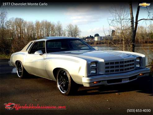 1977 Chevrolet Monte Carlo for sale in Gladstone, OR