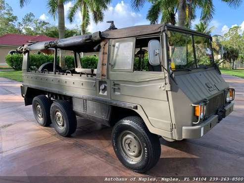 1980 Steyr Puch Pinzgauer 712M 6x6 Soft top! Very rare, Hard to find v for sale in Naples, FL