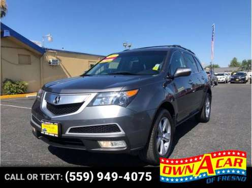 2011 Acura MDX Sport Utility 4D for sale in Fresno, CA