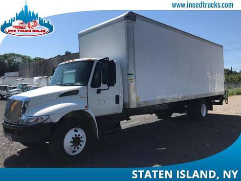 2013 INTERNATIONAL 4300 26' FEET DIESEL BOX TRUCK NON CDL LIF-brooklyn for sale in STATEN ISLAND, NY