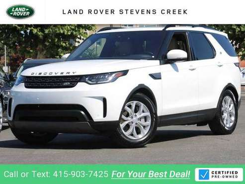 2019 Land Rover Discovery SE suv Fuji White for sale in San Jose, CA