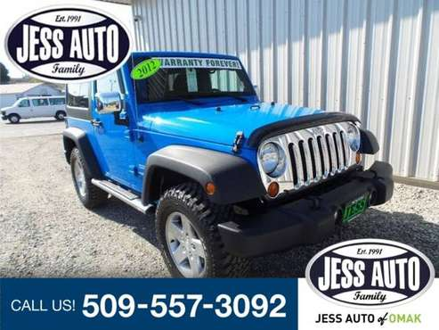 2012 Jeep Wrangler Sport- 6 speed Manual SUV Wrangler Jeep for sale in Omak, WA