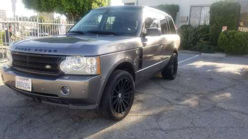 !!!!2008 Range Rover Supercharge !!!! for sale in INGLEWOOD, CA