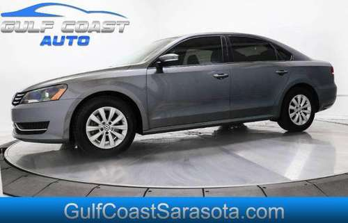 2013 Volkswagen PASSAT S FL CAR SERVICED FINANCING FIRST TIME BUYER... for sale in Sarasota, FL