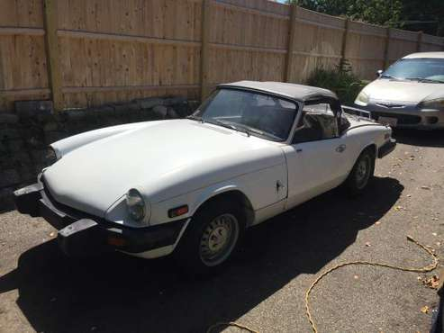 Triumph Spitfire 1500 for sale in Norwell, MA